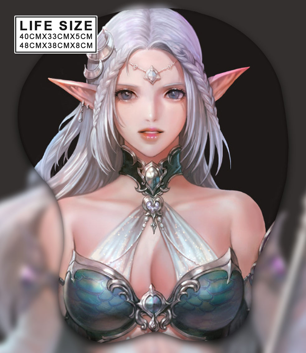 league of aagels life size oppai mousepad 6741 - Boobie Mouse Pad