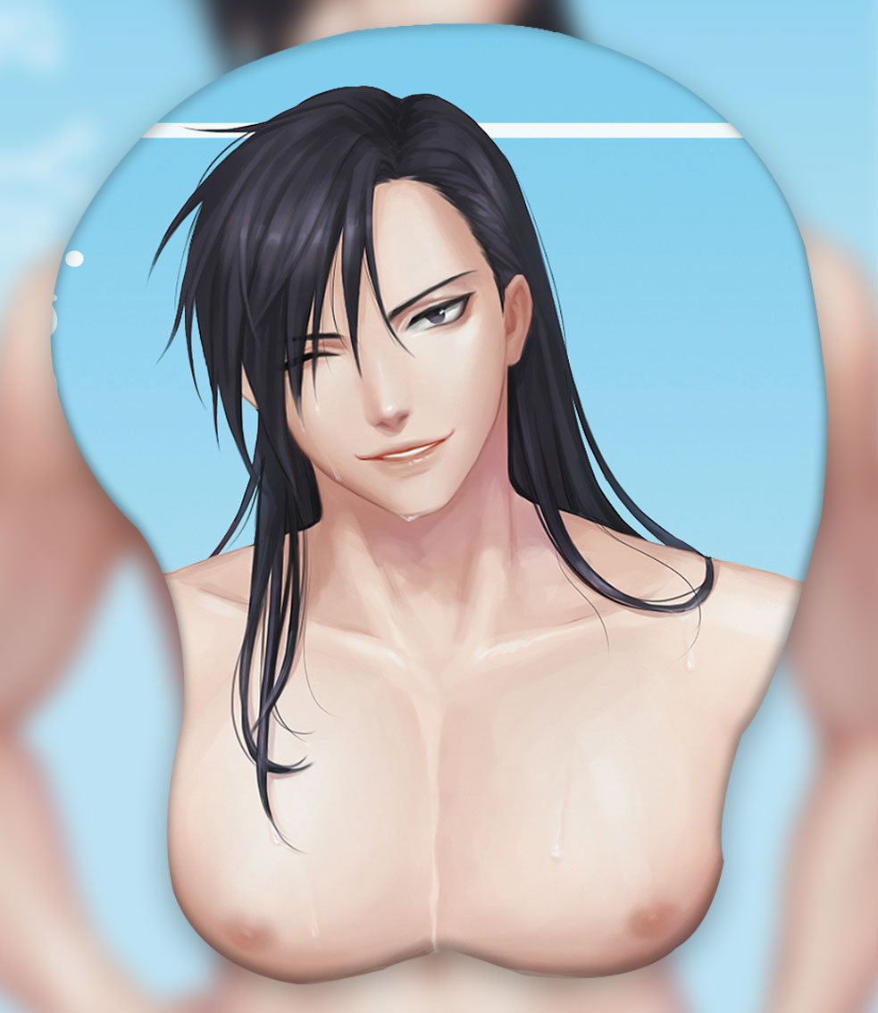 ling yao 3d oppai mouse pad 6722 - Boobie Mouse Pad