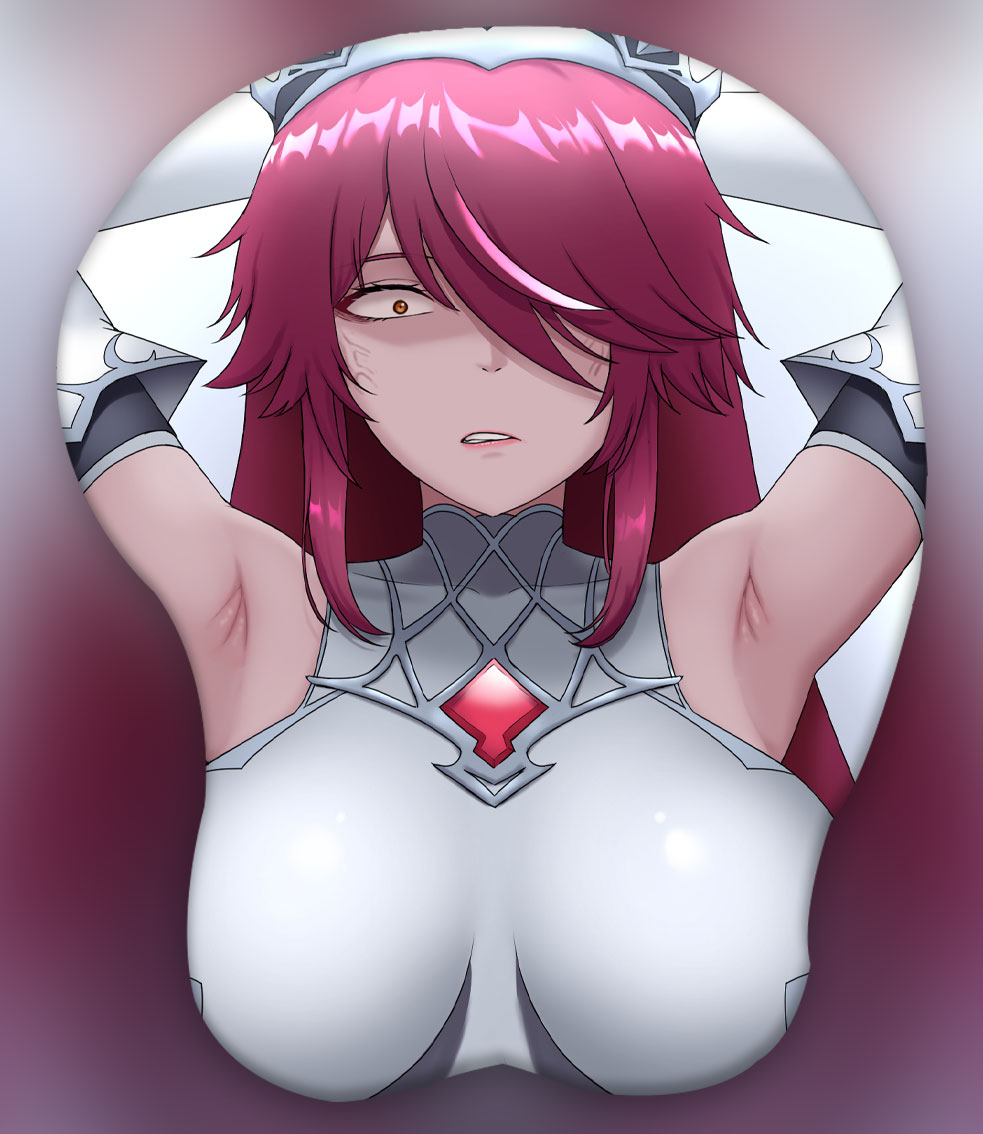 rosaria 3d oppai mouse pad 6119 - Boobie Mouse Pad