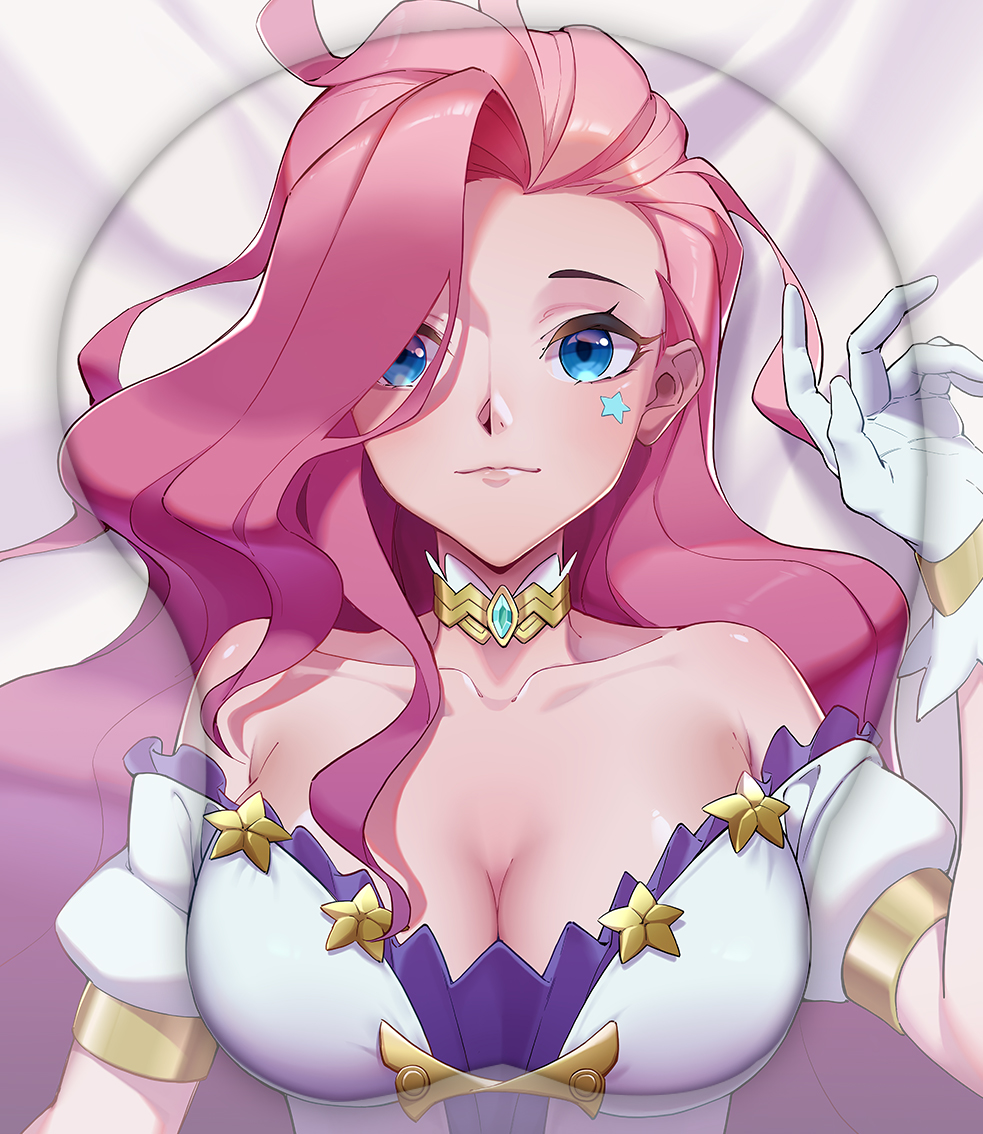 seraphine 3d oppai mouse pad 3497 - Boobie Mouse Pad