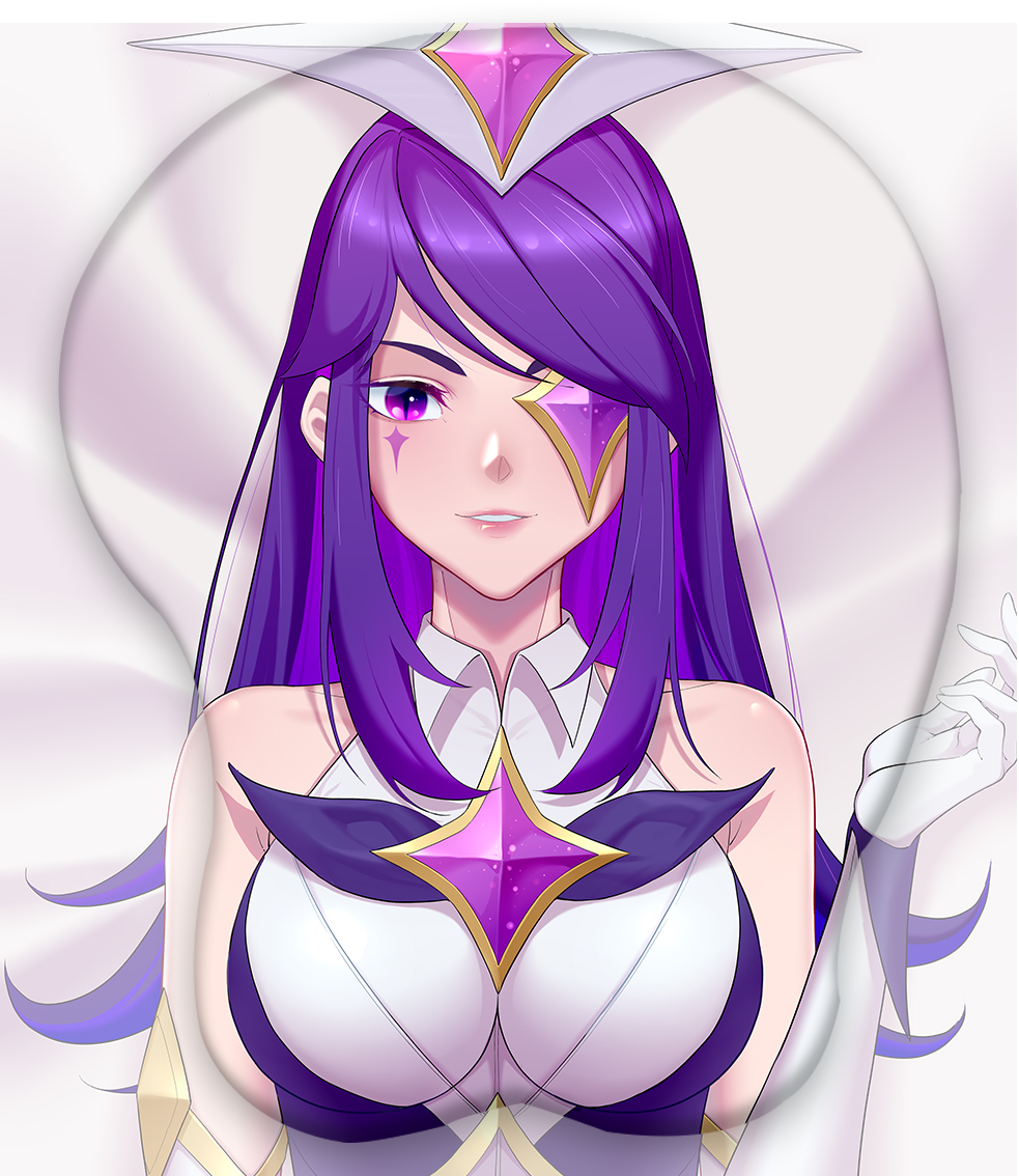 star guardian syndra 3d oppai mouse pad 6220 - Boobie Mouse Pad