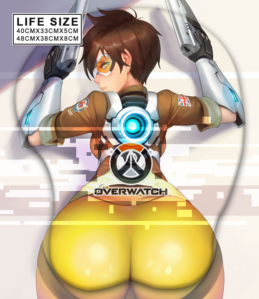 tracer life size butt mouse pad 5192 - Boobie Mouse Pad